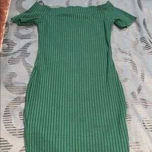 Shein Green Fitted Dress!